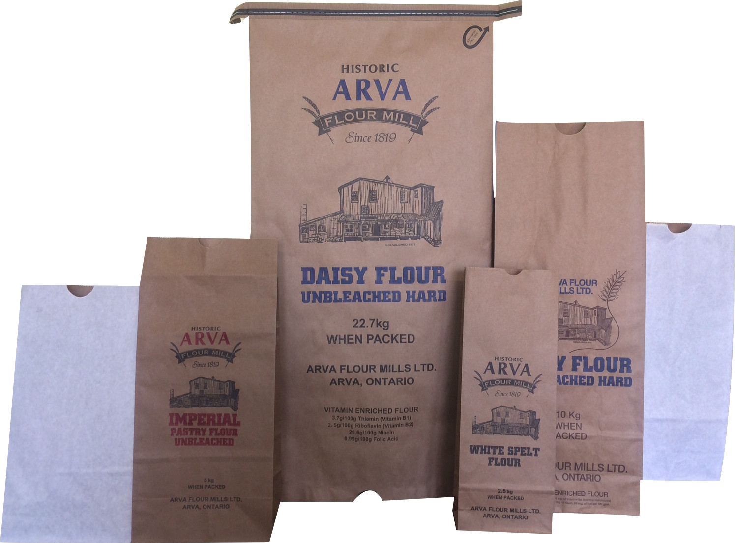 Paper Flour Bags Bag Supplier Manufacturer Ontario Canada